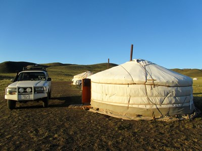In Mongolia nelle Ger